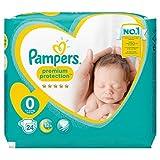 Pampers New Baby Größe 0 (1–2,5 kg) – 2x24 Stück (48 Windeln)