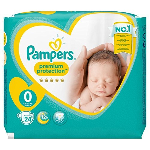 Pampers - New Baby Micro Pañales, talla 0 (1-2.5 kg), Pack de 2 (x 48 pañales)