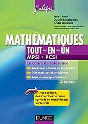 Mathématiques tout-en-un MPSI-PCSI - 2ème édition - Le cours de référence