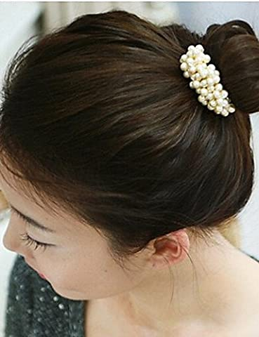 Zormey Women'S Woven Beaded Hair Ring