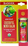 Badger Balsam'Cheerful Mind' - Bio-Zertifiziert, Sweet Orange & Spearmint, 17 g