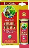 Badger Balsam'Cheerful Mind' - Bio-Zertifiziert, Sweet Orange & Spearmint, 17g