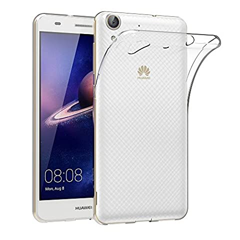 Coque Huawei Y6 II/ Honor 5A, AICEK Etui Silicone Gel Huawei Y6 2/ Honor 5A Housse Antichoc Huawei Y6 II Transparente Souple Coque de Protection pour Huawei Y6 2/ Honor 5A(5.5 Pouces) - Pro Grip Luce