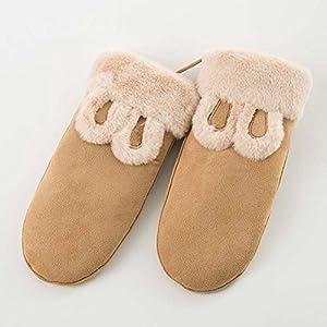 Unbekannt XIAOYAN Handschuhe Handschuhe Frauen Winter schöne Ohr warme Mode Frau Fäustlinge Bequem