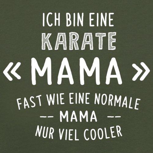 Ich bin eine Karate Mama - Herren T-Shirt - 13 Farben Olivgrün