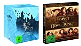 Harry Potter DVD Box Teil 1-7.2 [8 DVDs] + Mittelerde Collection DVD Box (Der Hobbit + Der Herr der Ringe Box) [6 DVDs]