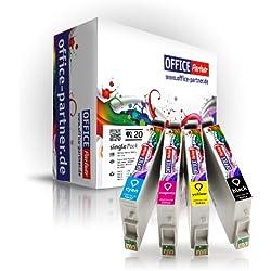 Pack 20 Epson T0615 Supérieure Qualité cartouches d'encre pour Epson Stylus D68/D68 PE/D88/D88 PE/D88 Plus/DX 3800/DX 3850/DX 3850 Plus/DX 4200/DX 4250/DX 4800/DX 4850/DX 4850 Plus