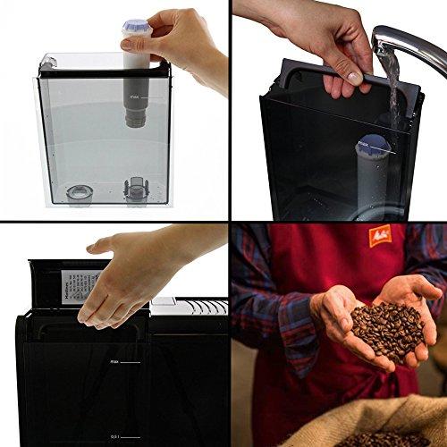 515l9IALwbL. SS500  - Melitta E950-101 CAFFEO Bean to Cup Coffee Machine, Solo, Plastic, 1400 W, 1.2 liters, Black
