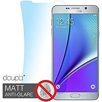doupi Samsung Galaxy Note 5 Mate Pantalla Película Protectora, Ultrathin Mate Anti Reflexión Reflejando optimizado Display Protector (6X en el Paquete)