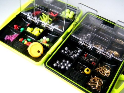 THKFISH Fishing Tackle Box Utility Box Haken Wirbels Angel-Zubehör-Box - 7