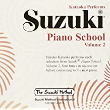 Suzuki Piano School Piano CD 2: Performed by Haruko Kataoka (Suzuki Method Core Materials)
