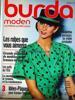 BURDA MODEN [No 3] du 01/03/1979