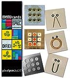 Memo Gedächtnisspiel SUCHE DREI von pixelproducts - Tri-genialer Spielspaß mit Lerneffekt