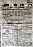 Telecharger Livres REVUE DE L OUEST No 72 du 16 06 1853 JOURNAL POLITIQUE ET D ANNONCES (PDF,EPUB,MOBI) gratuits en Francaise