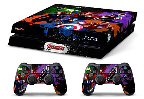 Skin PS4 HD THE AVENGERS limited edition Playstation 4
