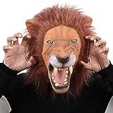 Party Storyla Le Roi Lion masque masque en latex tête masque d'animal nouveauté fête costumée
