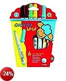 Giotto Bebè  466600 - Superpennarelli Astuccio 6 Colori