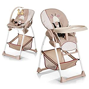 Hauck Sit N Relax Highchairs - Giraffe (Multicolor)