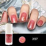 Quaan 20 Farbe Gel Nagel Polieren Nagel Kunst Nagel Gel Polieren UV LED Gel Wasser Basierend Nagel Polieren