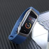 Fitness Armband Uhr mit Pulsmesser Wasserdicht Fitness Tracker Aktivitätstracker Pulsuhren Bluetooth Smart ArmbandUhr Schrittzähler mit (#5)