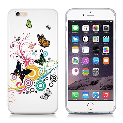 "Apple iPhone 5 / 5s ""kleine Fee"" Case Schutzhülle / Handyhülle Farbe : Gold Schmetterlinge"