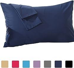 Cotton Craft Premium 600TC 100% Cotton Pillow Cover/Pillow Case Set of 2