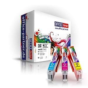 Pack 3 Couleurs Canon compatible CLI-551 XL & PGI-550 XL Supérieure Qualité cartouches d'encre pour Canon Pixma IP 7250 / MG 5450 / MG 6350 ; MX 725 / MX 925