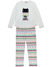 boboli Interlock Pyjamas For Girl, Conjuntos de Pijama para Niñas