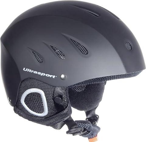 Ultrasport Skihelm Race Edition, schwarz matt, L, 331300000027 - Sci Caschi