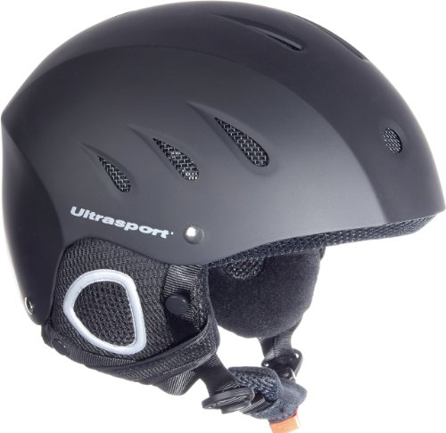 Ultrasport Men's Race Edition Snowboard Helmet - Black, X-Large