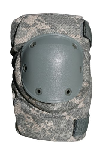 BPE-USA Army Style Knieschützer-ACU Universal Camouflage, Army Combat Uniform Universal Camouflage, ACU Universal Camouflage -
