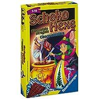 Ravensburger-23082-Schoko-Hexe-Mitbringspiel Ravensburger 23103 – Kinder Memory Mitbringspiel -