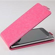 Prevoa ® 丨JIAYU S3 / S3 Advanced Funda - Flip PU Funda Cover Case para JIAYU S3 / S3 Advanced 5.5 Pulgadas Smartphone - Rosa