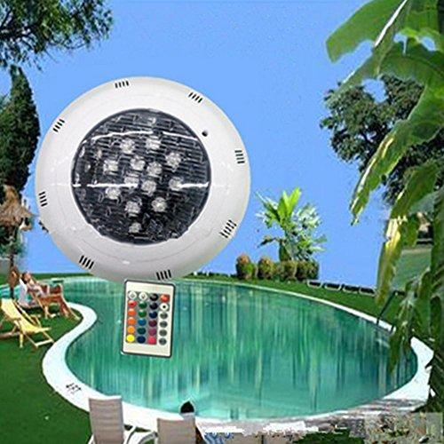 nd montiert Schwimmbad Bunt Unterwasser wasserdicht Landschaft Lampe , 9w (Basketball-kunststoff-maske)