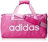 adidas - Linear Core, Bolso de mano Unisex adulto, Rosa (Solar Pink/True Pink), 20x23x45.5 cm (W x H L)