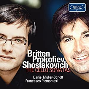 Britten, Prokofiev & Shostakovich: The Cello Sonatas by ORFEO