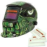 Caretas para Soldar Casco de Soldadura Gafas Escudo Máscara Multi-Formas Energía Solar Oscurecimiento Automático - 5