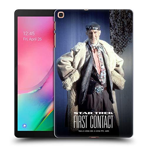 Für Kontakte Kostüm - Head Case Designs Offizielle Star Trek Volles Kostüm Zefram Cochrane Der Erste Kontakt TNG Harte Rueckseiten Huelle kompatibel mit Samsung Galaxy Tab A 10.1 (2019)