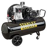 Compressore a Olio Trasmissione a Cinghia Bistadio 270L 5,5Hp Stanley BA 651/11/270 Professionale