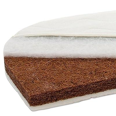 Colchón Babybay para cunas Maxi y Boxspring; color blanco weiß
