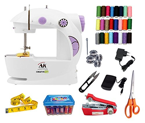 Creativevia Ak 30in1 Pack Portable And Compact Mini Electric Sewing Machine