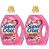 Super Croix Aromathérapie Malaisie - Lessive Liquide - Lot de 2 x 1, 95L - 78 Lavages