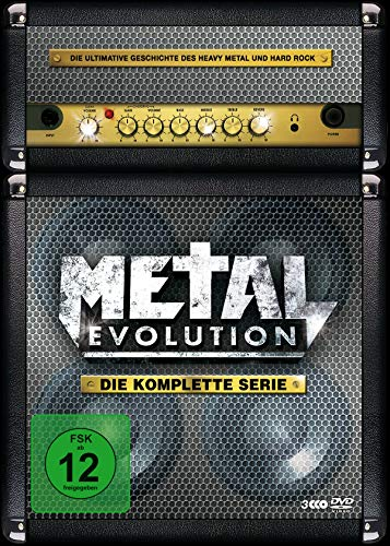 Metal Evolution - Die komplette Serie [3 DVDs] (Komplette Alice Serie Dvd)