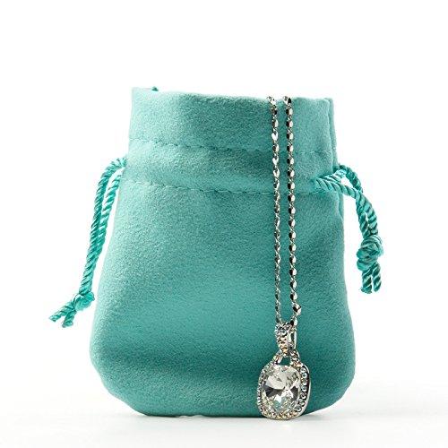 Oirlv 20pcs velluto coulisse sacchetti piccoli sacchetti in peluche per gioielli imballaggio display wedding party bags e velluto, colore: microfiber, cod. oirlv