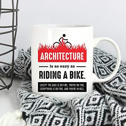 Architect - Taza de regalo con diseño de arquitecto para arquitecto