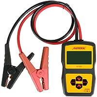 Autool BT360Probador de sistema de batería, analizador de estado, 12V, 100a2400 CCA, para analizar y diagnosticar sistemas de carga, mecanismos de automóviles y niveles de líquidos normales de coches domésticos