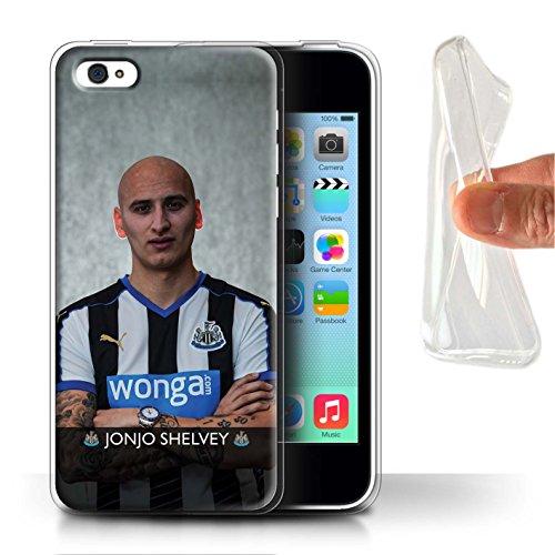 Offiziell Newcastle United FC Hülle / Gel TPU Case für Apple iPhone 5C / Colback Muster / NUFC Fussballspieler 15/16 Kollektion Shelvey