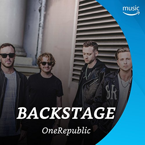 Backstage mit OneRepublic