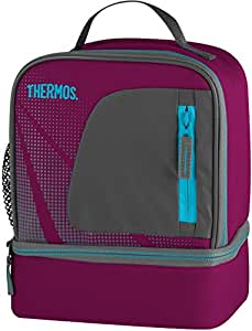 Thermos Radiance Dual Compartment Lunch Kit - Grape