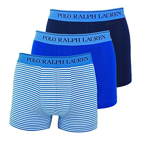 Polo Ralph Lauren 3 Pack Classic Trunk Stretch Cotton L Multi (009) (Lauren Boxer-shorts Ralph)